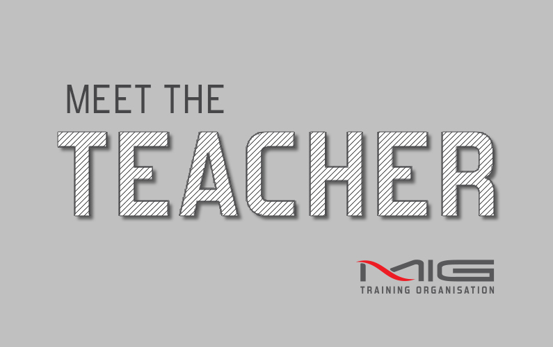 MEET THE TEACHER…JENELLE ARNOTT