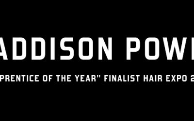 """MIG'S MADDISON POWER FROM ELLA&JADE – """"APPRENTICE OF THE YEAR"""" FINALIST HAIR EXPO 2018"""