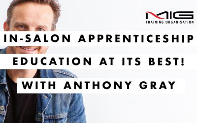 In-salon Apprentice Education at its Best
