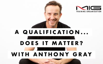 A Qualification – Does it Matter?