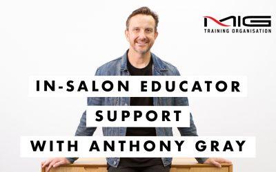 In-salon Educator Support