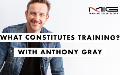 What Constitutes Training?