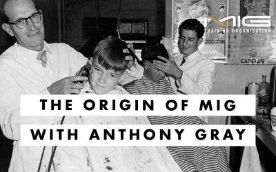 The Origin of MIG Training