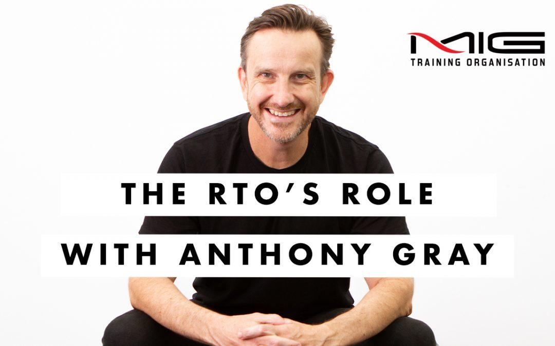 The RTO's Role